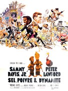 Salt and Pepper - French Movie Poster (xs thumbnail)