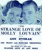 The Strange Love of Molly Louvain - poster (xs thumbnail)