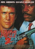 Lethal Weapon 2 - French Movie Poster (xs thumbnail)