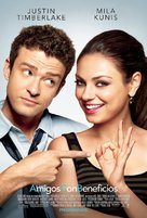 Friends with Benefits - Mexican Movie Poster (xs thumbnail)