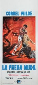 The Naked Prey - Italian Movie Poster (xs thumbnail)