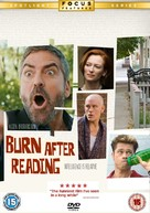Burn After Reading - British Movie Cover (xs thumbnail)