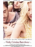 Vicky Cristina Barcelona - Portuguese Movie Poster (xs thumbnail)