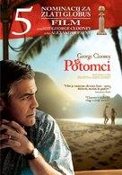 The Descendants - Slovenian Movie Poster (xs thumbnail)