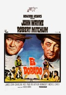 El Dorado - Spanish Movie Poster (xs thumbnail)