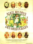 Alice's Adventures in Wonderland - French Movie Poster (xs thumbnail)
