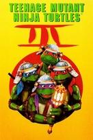 Teenage Mutant Ninja Turtles III - DVD cover (xs thumbnail)