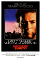 Sudden Impact - Spanish Movie Poster (xs thumbnail)