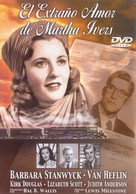 The Strange Love of Martha Ivers - Spanish DVD cover (xs thumbnail)
