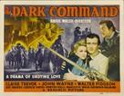 Dark Command - Movie Poster (xs thumbnail)