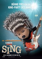 Sing - Austrian Movie Poster (xs thumbnail)