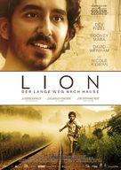 Lion - German Movie Poster (xs thumbnail)