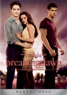 The Twilight Saga: Breaking Dawn - Part 1 - DVD movie cover (xs thumbnail)