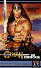 Conan The Destroyer - German VHS movie cover (xs thumbnail)
