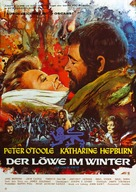 The Lion in Winter - German Movie Poster (xs thumbnail)