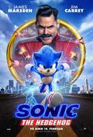 Sonic the Hedgehog - Norwegian Movie Poster (xs thumbnail)