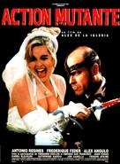 Acción mutante - French Movie Poster (xs thumbnail)