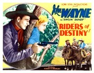 Riders of Destiny - Movie Poster (xs thumbnail)