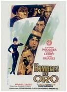 Sette uomini d'oro - Spanish Movie Poster (xs thumbnail)