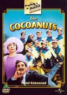 The Cocoanuts - Danish DVD cover (xs thumbnail)