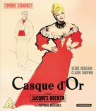 Casque d'or - British Blu-Ray movie cover (xs thumbnail)