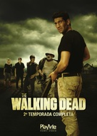 """The Walking Dead"" - Brazilian DVD movie cover (xs thumbnail)"