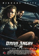 Drive Angry - Greek Movie Poster (xs thumbnail)