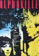 Alphaville, une étrange aventure de Lemmy Caution - Hungarian Movie Poster (xs thumbnail)