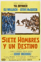 The Magnificent Seven - Argentinian Movie Poster (xs thumbnail)