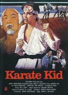 The Karate Kid - German Movie Poster (xs thumbnail)