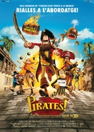 The Pirates! Band of Misfits - Andorran Movie Poster (xs thumbnail)