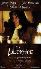 The Libertine - French Movie Poster (xs thumbnail)