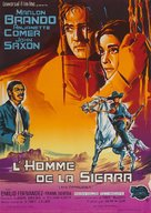 The Appaloosa - French Movie Poster (xs thumbnail)