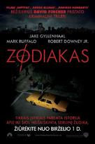 Zodiac - Lithuanian Movie Poster (xs thumbnail)