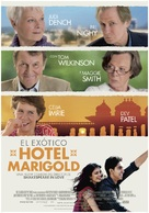 The Best Exotic Marigold Hotel - Spanish Movie Poster (xs thumbnail)