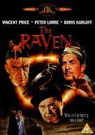 The Raven - British DVD cover (xs thumbnail)
