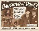Daughter of Don Q - Movie Poster (xs thumbnail)