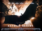 Batman Begins - British Movie Poster (xs thumbnail)