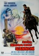 A Man Called Gannon - German Movie Poster (xs thumbnail)