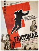 Fantômas - Danish Movie Poster (xs thumbnail)