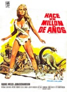 One Million Years B.C. - Spanish Movie Poster (xs thumbnail)