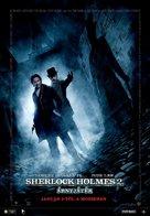 Sherlock Holmes: A Game of Shadows - Hungarian Movie Poster (xs thumbnail)