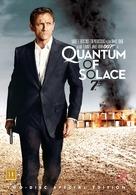 Quantum of Solace - Danish Movie Cover (xs thumbnail)