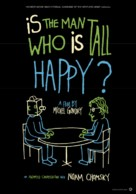 Is the Man Who Is Tall Happy?: An Animated Conversation with Noam Chomsky - Dutch Movie Poster (xs thumbnail)