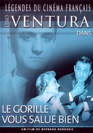 Le gorille vous salue bien - French Movie Cover (xs thumbnail)