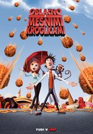 Cloudy with a Chance of Meatballs - Slovenian Movie Poster (xs thumbnail)