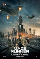 Maze Runner: The Death Cure - British Movie Poster (xs thumbnail)