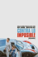 Ford v. Ferrari - Argentinian Movie Poster (xs thumbnail)