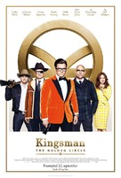 Kingsman: The Golden Circle - Icelandic Movie Poster (xs thumbnail)