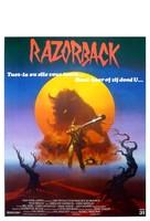 Razorback - Belgian Movie Poster (xs thumbnail)